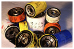 Terc used oil filters for How do you dispose of motor oil